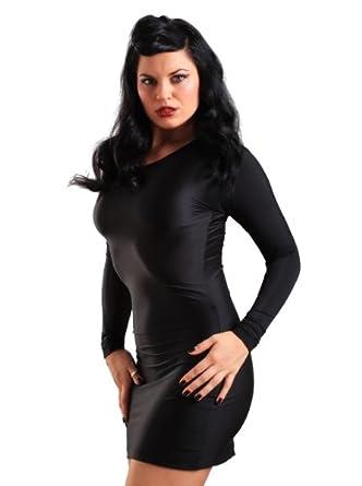 Purr Lingerie Women's Dress in Lycra Black size UK 10-12 (S-M)