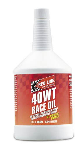 Red Line 10404 12pk 40 Wt Sae 15w 40 Racing Motor Oil 1