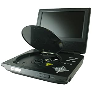 Axion LMD5708 7Inch Portable DVD Player Black