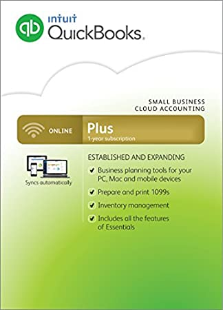 QuickBooks Online Plus [1-Year Subscription]