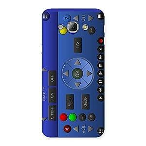 Impressive Super Remote Multicolor Back Case Cover for Galaxy A8