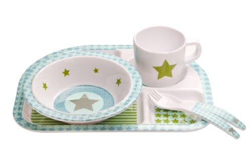 Kindergeschirr Dish Set Melamin, Starlight oliv