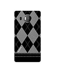 alDivo Premium Quality Printed Mobile Back Cover For Microsoft Lumia 950 XL / Microsoft Lumia 950 XLPrinted Mobile Covers (MKD327)