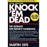 Knock'Em Dead 1996: The Ultimate Job Seeker's Handbook (1558505741) by Yate, Martin John