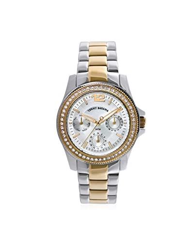Tommy Bahama Women's TB4047 Riviera Gold/Silver Stainless Steel Watch