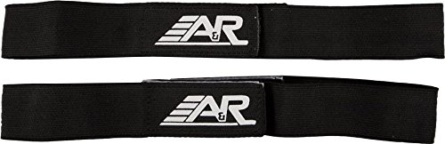 A&R Sports Shin Straps, Junior, Black - 1
