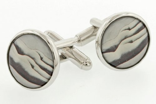 JJ Weston Twin Tushes or Butts Cufflinks with Presentation Box. Made in the USA