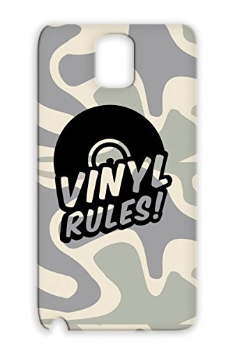 Black Anti-Drop Disco Country Dance Birthday Party Headphones Headphone Sounds Rocknroll Music Vynil Classic Rock Dj Music Rock Metal Fun Hiphop Jazz Rampampb Records Urban Sound And Roll Pop Vynil Rules Tpu Protective Hard Case For Sumsang Galaxy Note 3