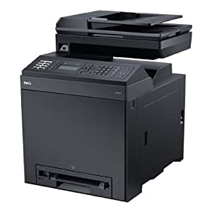 Dell 2155cn Multifunction Color Laser printer, which can serve as your scanner, copier, fax machine and printer with 1 Year Next Business Day Service after Remote Diagnosis