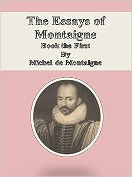Essays of montaigne amazon