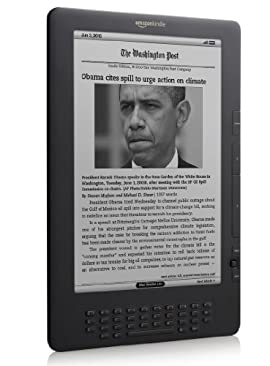 Amazon Kindle DX E-book reader Free 3G, 9.7