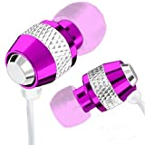 Guilty Gadgets ® - Pink Earphones Headphones Hands Free With Mic For Sony, Tablet S, E, go, ion, J, L, Miro, P, S, S Tablet, SL, Sola, SP, T, Tipo, tipo dual, TX, U, V, XL, Z, Nokia Lumia 510, 520, 610, 620, 710, 720, 800, 820, 900, 920, Amazon Kindle DX