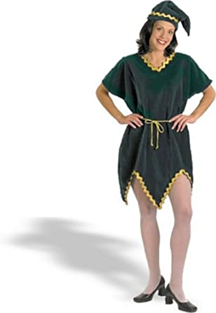 Halco Womens Velvet Elf Adult Costume