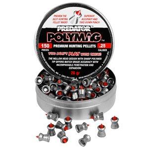 Predator Polymag .25 Cal 26 Grains Pointed 150Ct