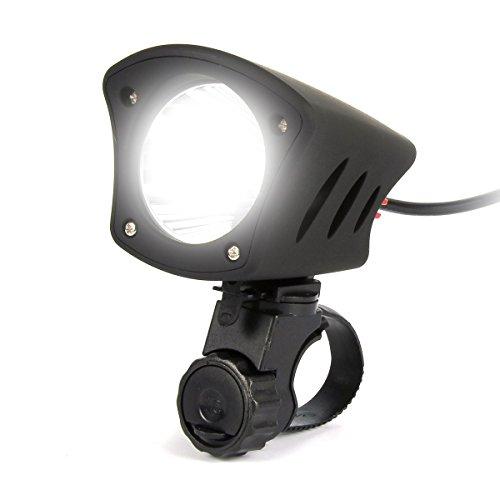 uvistar led vorne fahrradlampe fahrradbeleuchtung f r nabendynamo mit akku wiederaufladbar. Black Bedroom Furniture Sets. Home Design Ideas