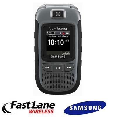 Samsung Convoy Sch-U640 Cell Phone Ruggedized Ptt 2+ Megapixel Camera For Verizon