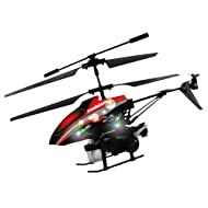 Modelart 4.5 Channel Heli With Bubble Blower, Red