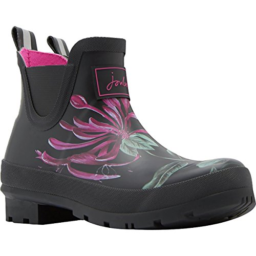 Joules-Womens-Wellibob-Rain-Boot-Black-Hedgerow-Size-7