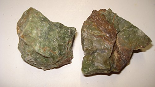 (#1) 2Pc Chrysoprase From Madagascar Large - Raw Rough 100% Natural Crystal Gemstone Specimen