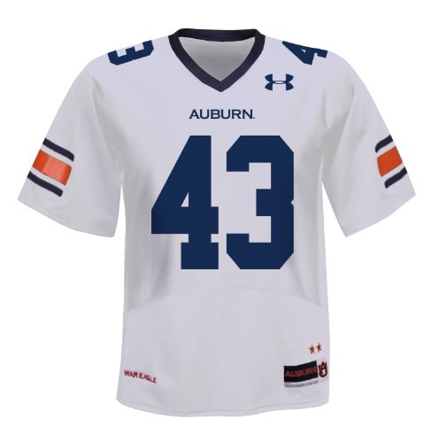 NCAA Men's Auburn Tigers #23 College Replica Football Jerseys (White, Large) at Amazon.com
