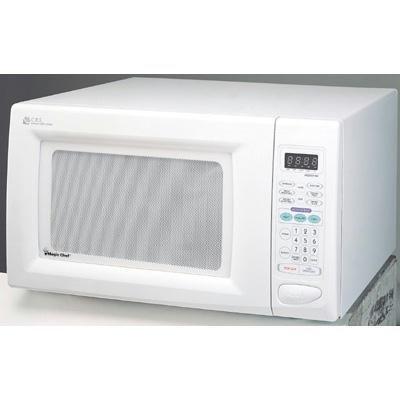 Magic Chef 1.6cf 1100 W White Microwave ( MCD1611W )