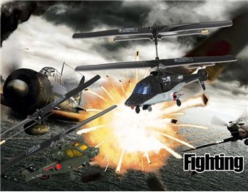 G.T.Model 3-Channel Infrared RC Fighting Helicopter