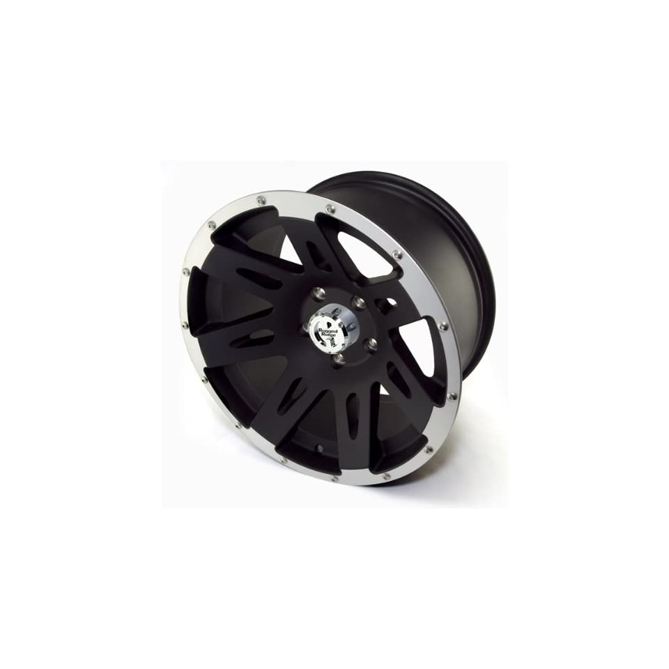 Rugged Ridge Jeep Wrangler JK Black Satin Wheel (17x 9/5x5)