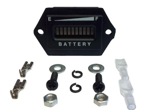 48 Volt Golf Cart Digital Led Battery State Of Charge Indicator Meter Golf Equipment / Gear Store