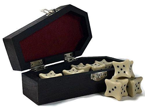 bone d20 dice sets