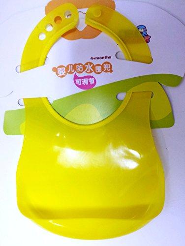Silicone Baby Bib with Bonus Garanimals Soft Book - 1