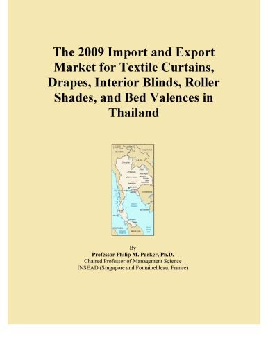 The 2009 Import and Export Market for Textile Curtains, Drapes, Interior Blinds, Roller Shades, and Bed Valences in Thailand