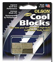 Olson Saw CB50030BL Shopsmith Band Saw Accessory Cool Blocks