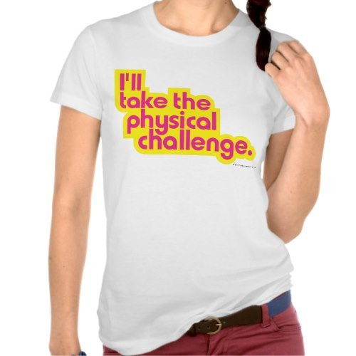 Double Dare: Physical Challenge Tee - Jrs.