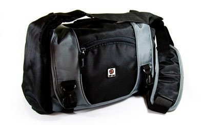 Tuff-Luv Shoulder case Bag for digital SLR camera in size: XL / colour: Grey / compatible with (Sony Alpha a900 / a700 / a200 / a100 / DSC-H50 / DSC-H10 / DSLR-A900 / DSLR-A350K / DSC-HX1 / a330 / H20 / A500 / A850 / A550 / A350 / A560 A35 A57 A65 / A580