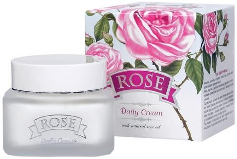 Daily Cream ROSE-With Natural Rose Oil, 50ml rose