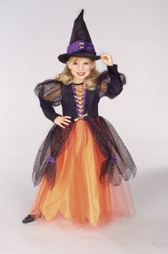 Child Witch Costume - Pretty Witch - Small