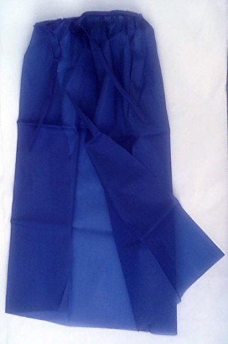 Childrens Blue Cape - Made of Silky Synthetic Material