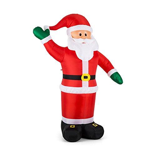 oneConcept Mr. Klaus decorazione natalizia Babbo Natale