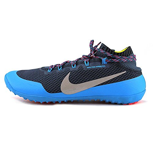 pictures of Nike Men's Free Hyperfeel Run Trail, SQUADRON BLUE/REFLECT SILVER-BLUE HERO-CHILL, 11 M US