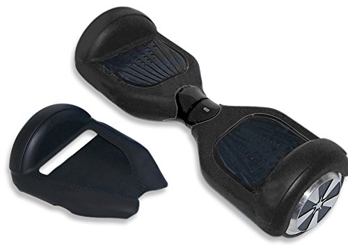 SILICONE CASE for Self-balancing scooter 6.5 inch. Rubber Guard Protection Absorbs Impact While Riding Self Balancing Board. Easy Install - Simply Slide On - Lifetime Warranty