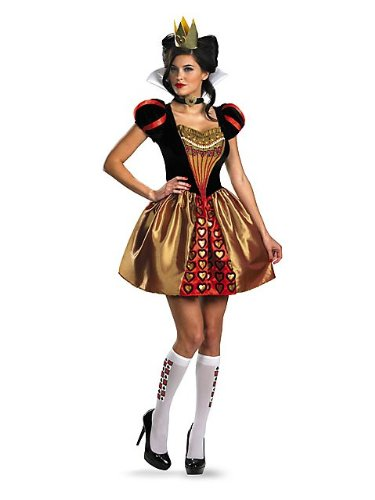 Alice in Wonderland Women's Burton Red Queen Costume S
