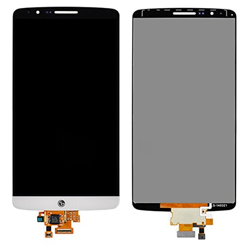 Full Panel Lcd Display Screen Touch Digitizer Glass Assembly Compatible For Lg Optimus G3 D850 D851 D855 Vs985 Ls990 White Replacement Part
