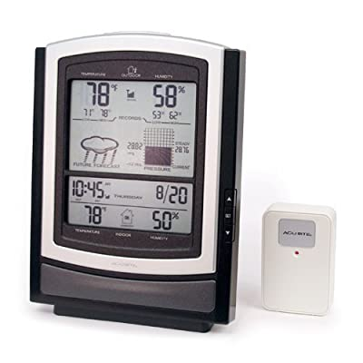 Big Screen Wireless Weather Station with Temperature, Humidity, Barometer, Clock and Calendar from CHANEY INSTRUMENT COMPANY