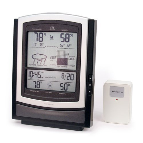 Acu-Rite Wireless Weather Station with Indoor/Outdoor Temperatures