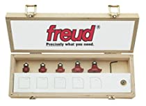 Hot Sale Freud 89-152 6-Piece Round Over and Beading Router Bit Set