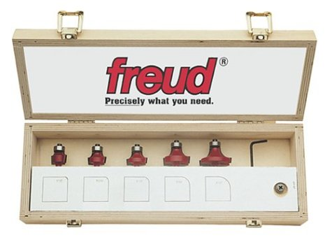 Freud 89-152 6-Piece Round Over and Beading Bit Set