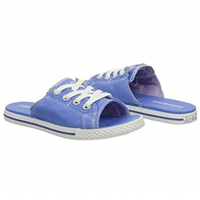 Converse Women's Chuck Taylor All Star Cutaway EVO Slip-On Ox Sandal,B. Blue,5 B US