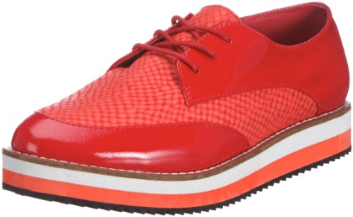 Buffalo 127730 Women's Laofers Red (RED) 38