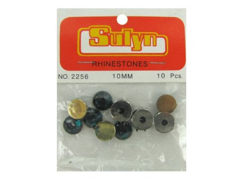 Bulk Buys Cn668 10Mm Green Rhinestones Case Of 144