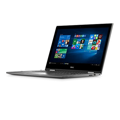 "Dell I5568-0463GRY 15.6"" FHD 2-in-1 Laptop (Intel Core I3-6100U 2.3GHz Processor, 4 GB RAM, 500 GB HDD, Windows..."